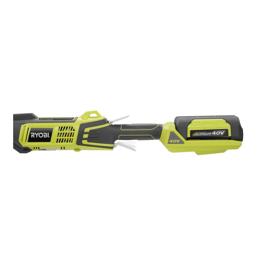 ryobi ry40225 expand it 40 volt lithium ion attachment capable cordless power head pppab avi. Black Bedroom Furniture Sets. Home Design Ideas