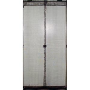Rapid up 32 in x 80 in black removable screen door pppa for Removable screen door