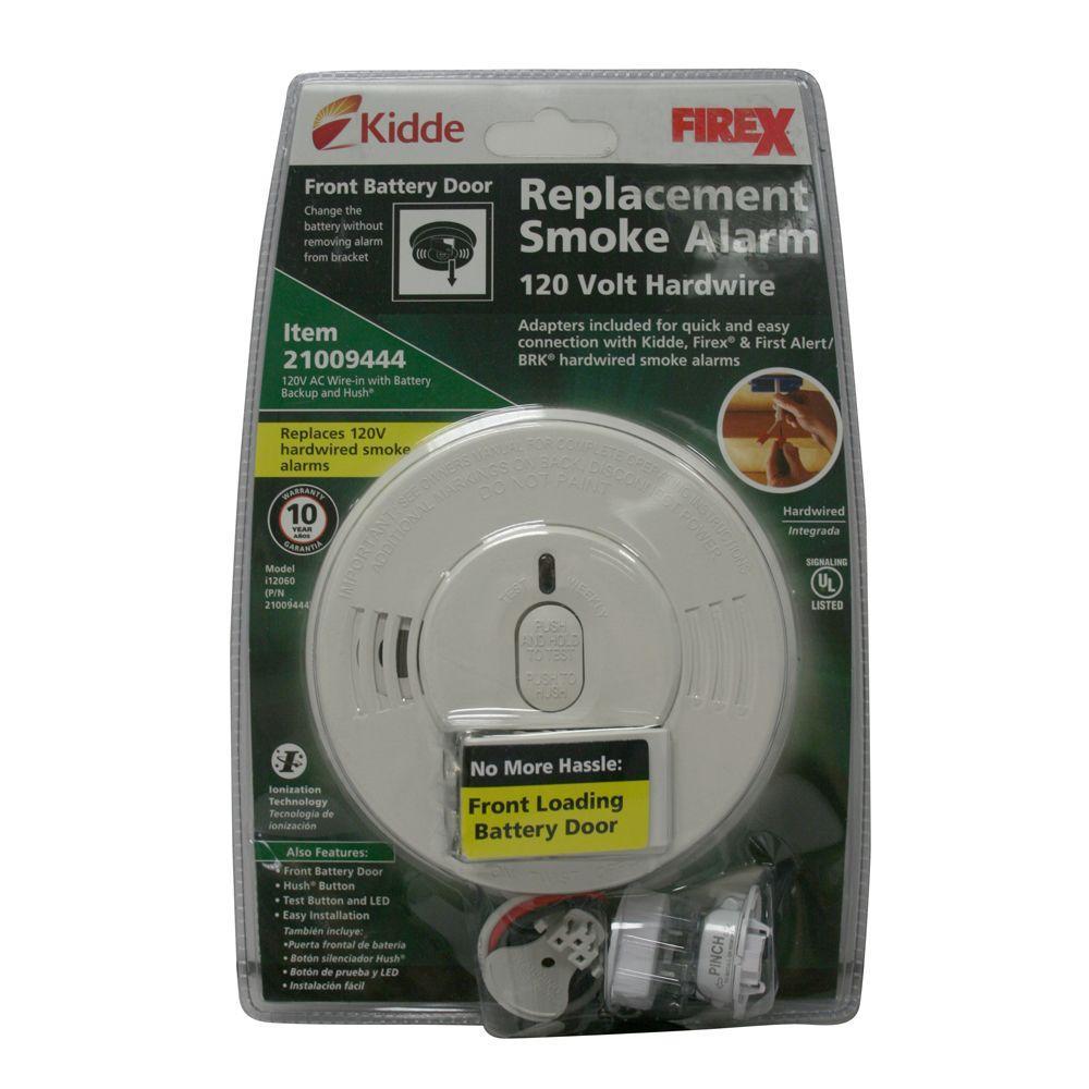 kidde 21009444 hardwire interconnectable 120 volt smoke alarm with battery backup ppp avi depot. Black Bedroom Furniture Sets. Home Design Ideas