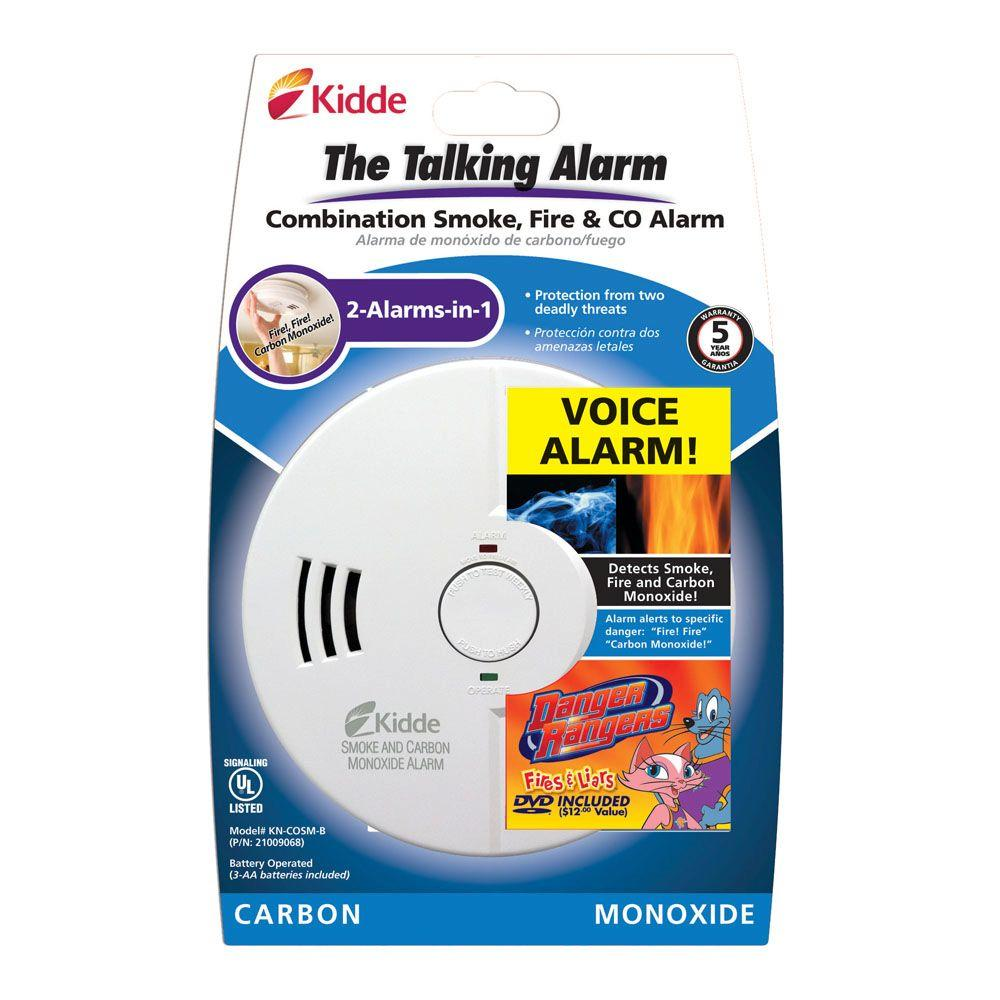 kidde kn cosm b battery operated combination smoke and carbon monoxide alarm. Black Bedroom Furniture Sets. Home Design Ideas