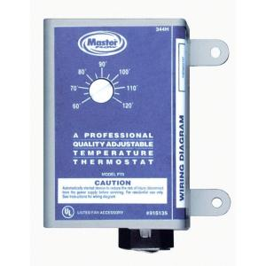 Master Flow Adjustable Power Thermostat Fits All M