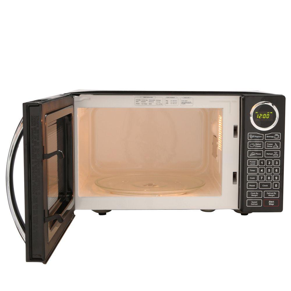 RCA RMW953 0.9-cubic-foot Microwave Oven, Black P