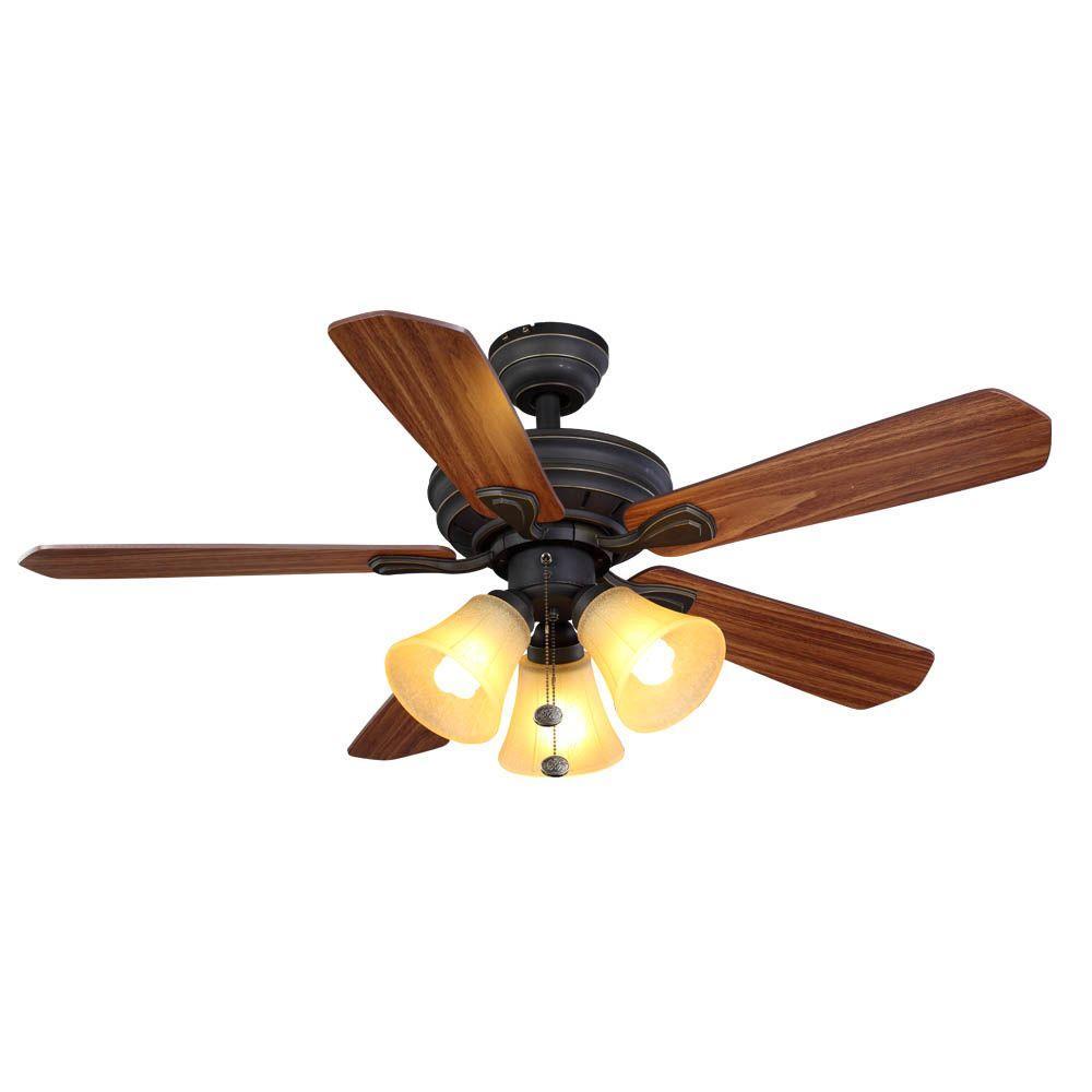 Hampton Bay Ceiling Fan Parts : Hampton bay westmount in oil rubbed bronze