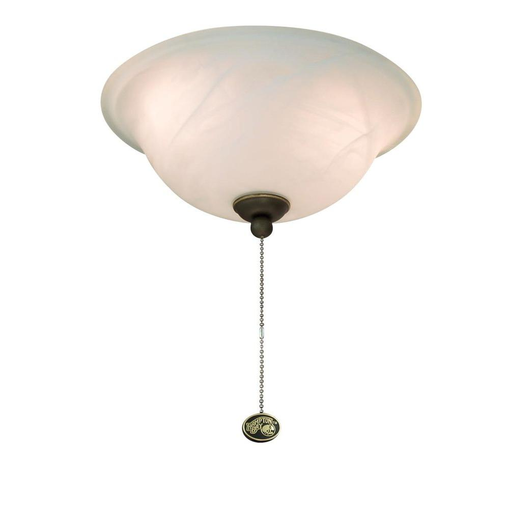Hampton Bay Brookhurst 52 Quot Oil Rubbed Bronze Ceiling