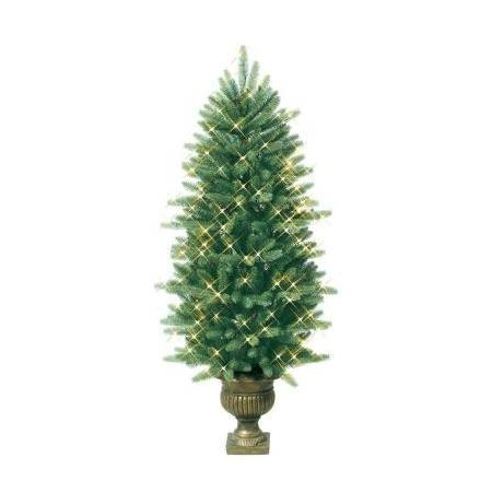 GE 4.5 ft. Just Cut Frasier Potted Tree Clear 0143