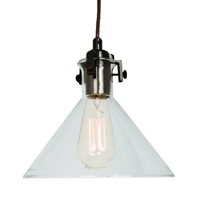 Home Decorators Collection 25401-36 1-Light Ceiling Clear