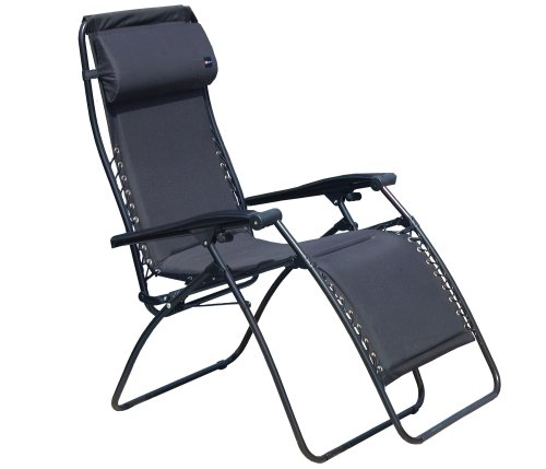 Faulkner 48469 Standard Recliner Black Padded wit
