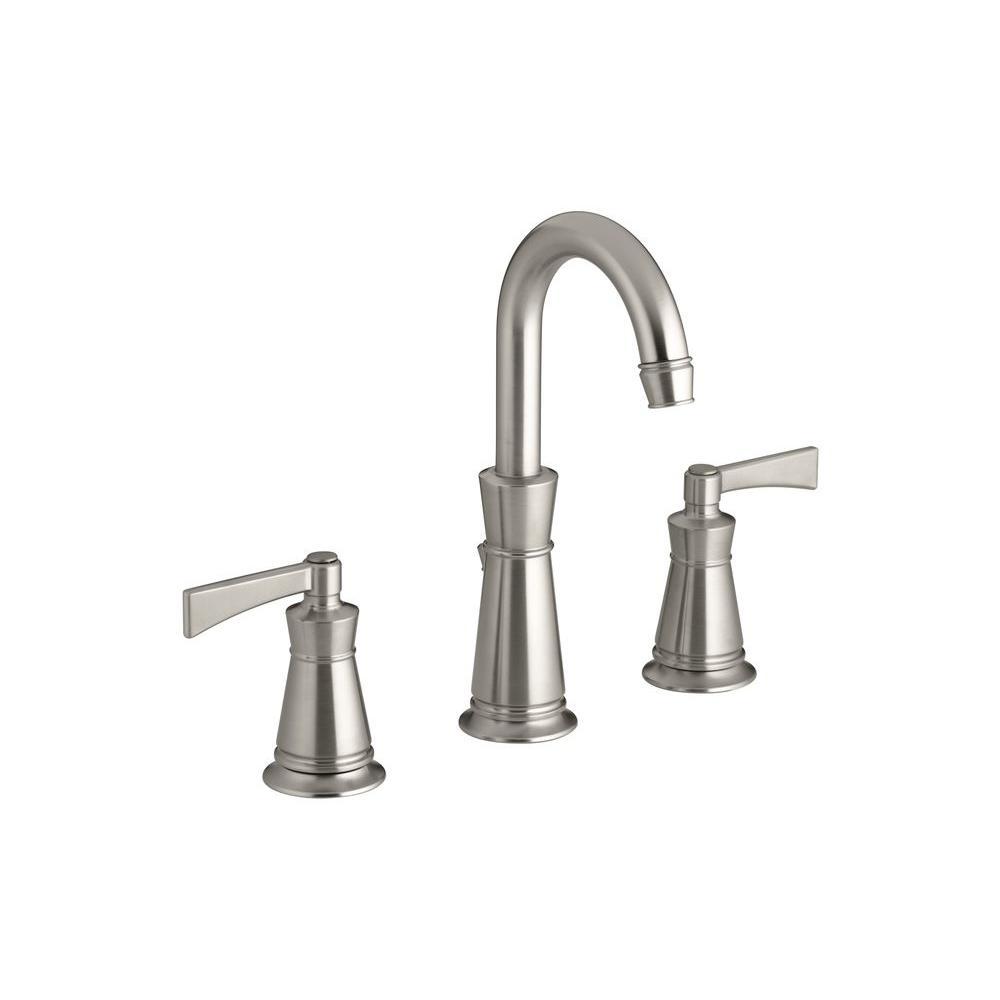 KOHLER K-R11076-4DN-BN Archer 8 in. Bathroom Faucet in Vibrant Brushed ...