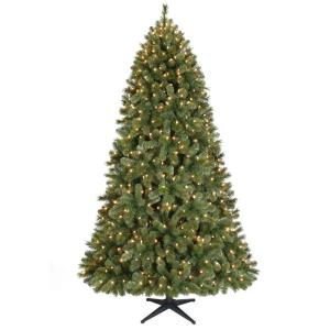 7.5 ft. Pre-Lit Wesley Pine Artificial Christmas