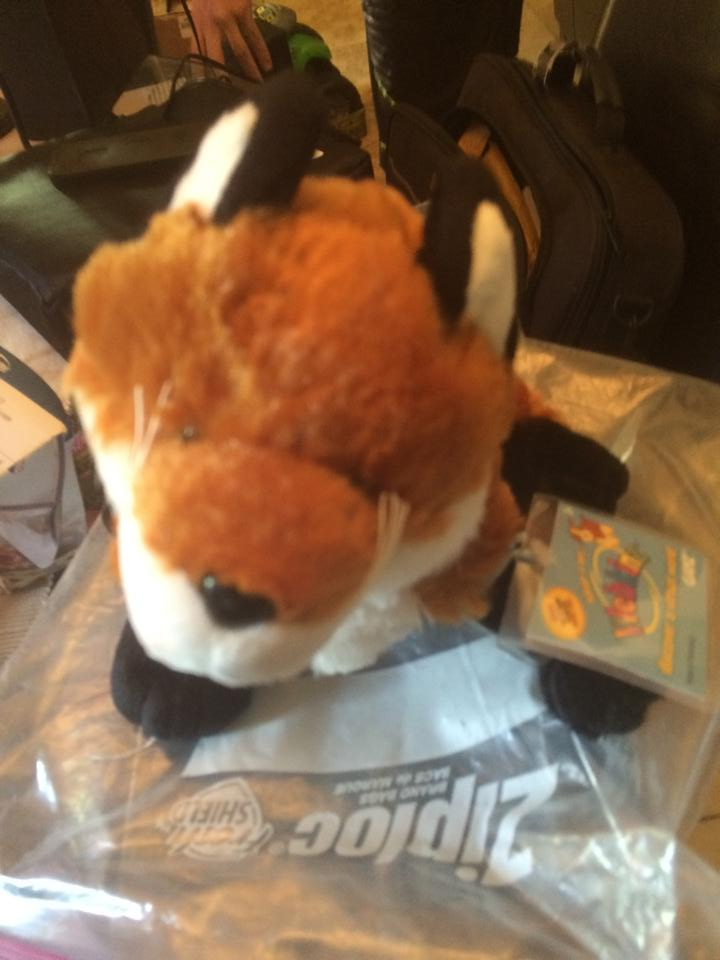 Webkinz HM171 Fox Plush Stuffed Animal PPPAB