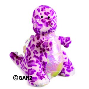 Webkinz Plush Stuffed Animal Spotted Dinosaur GAR