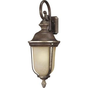 hampton bay exterior wall lantern light hampton bay beckingham wall mount 1 light outdoor bronze