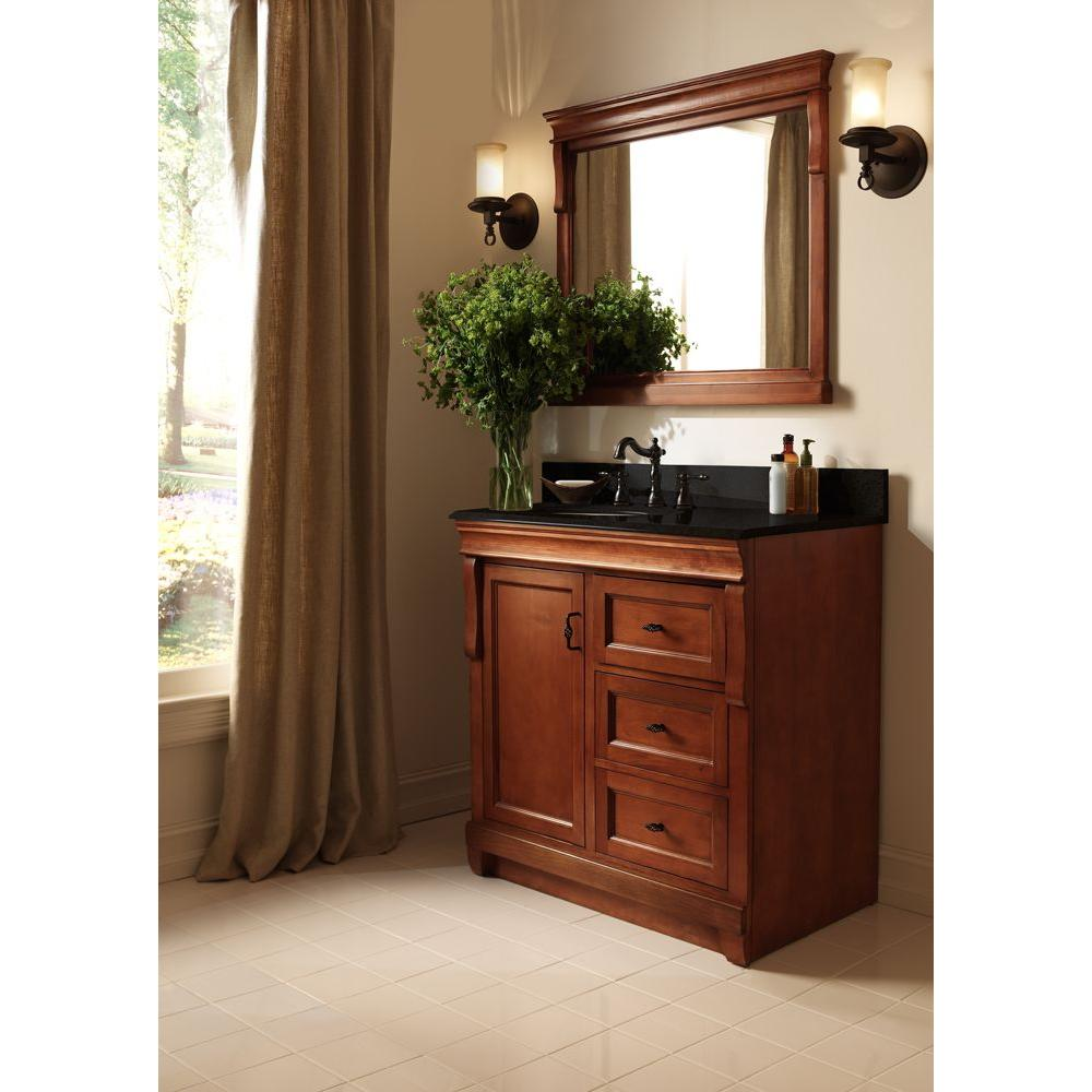 Foremost naca3021dl naples 30 in vanity cabinet only in for Foremost bathroom vanity