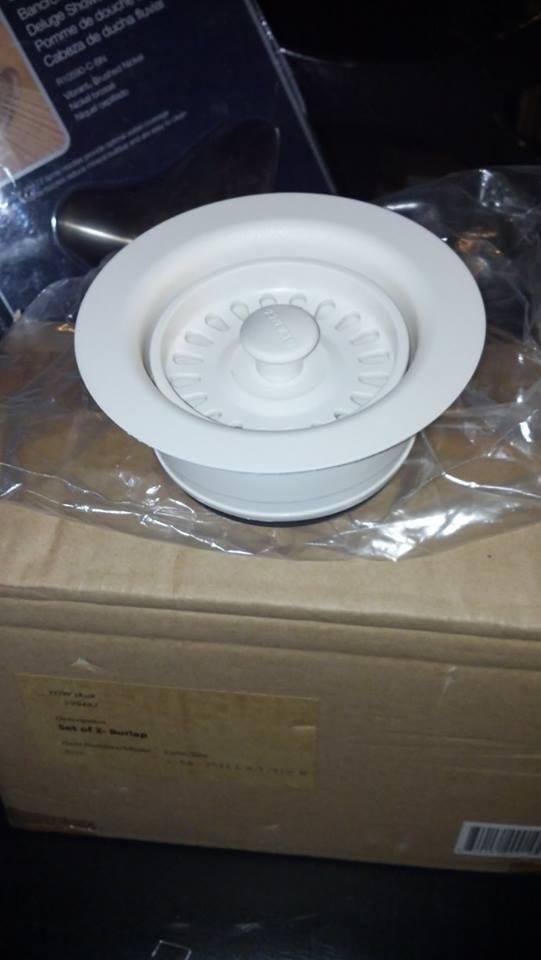 Bathroom Sink Flange Or Gasket Leaking: Blanco 441097 Silgranit II Sink Waste Flange Finish