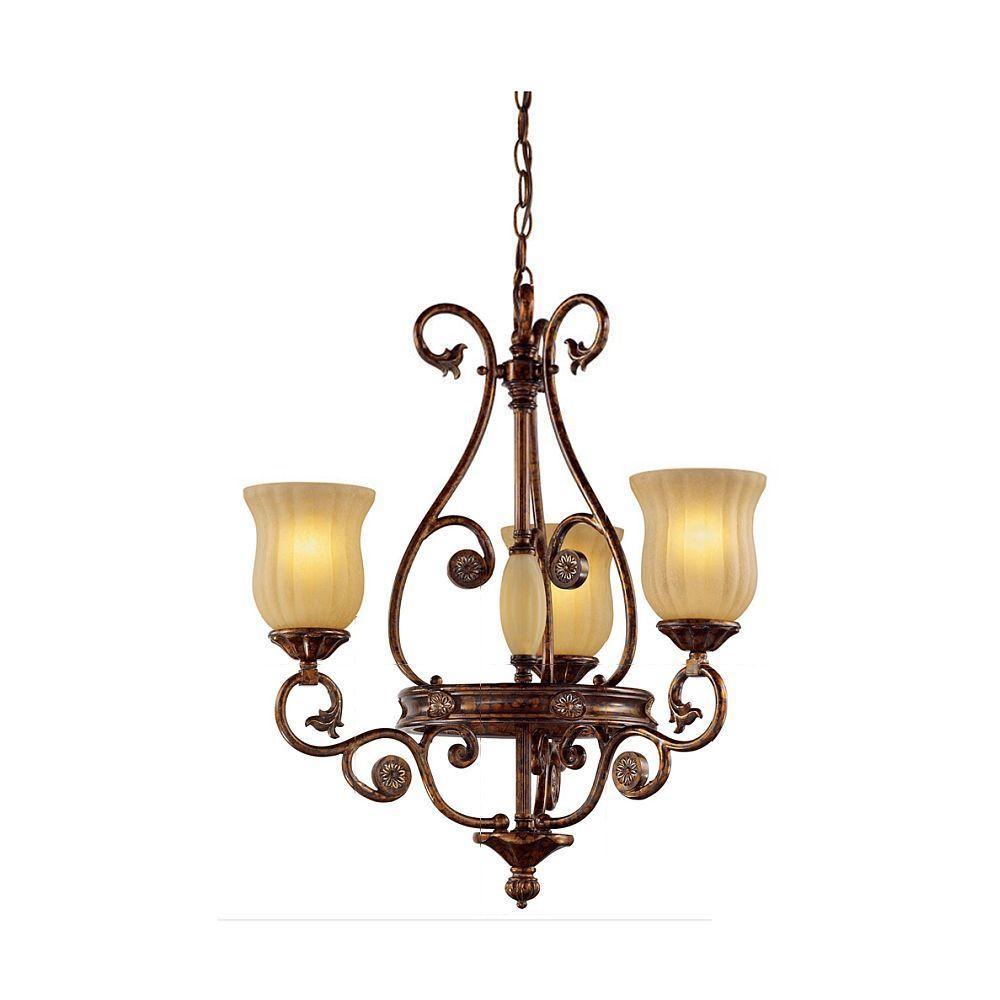 hampton bay 13384 012 freemont collection 3 light hanging antique bronze chandelier pppab avi. Black Bedroom Furniture Sets. Home Design Ideas