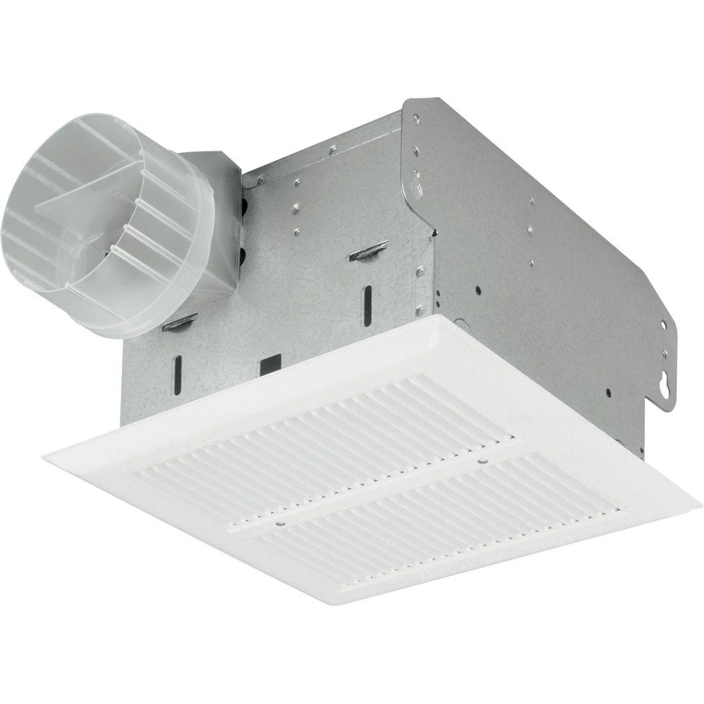Nutone 50 Cfm Ceiling Exhaust Bath Fan With Light 763n: NuTone HD50NT Heavy Duty 50 CFM Ceiling Exhaust Fan PPPAE