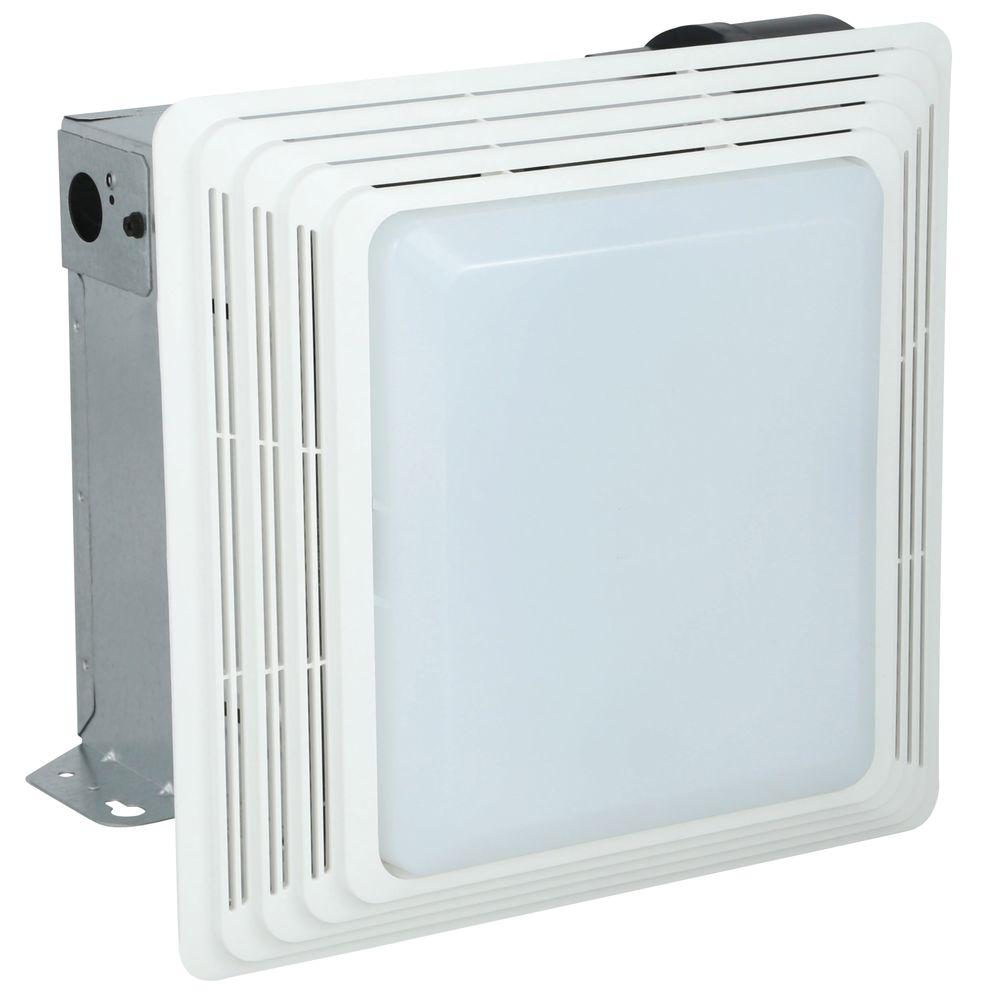 Nutone Hd50lnt Heavy Duty 50 Cfm Ceiling Exhaust Fan With Light Pppae Done Avi Depot Much More