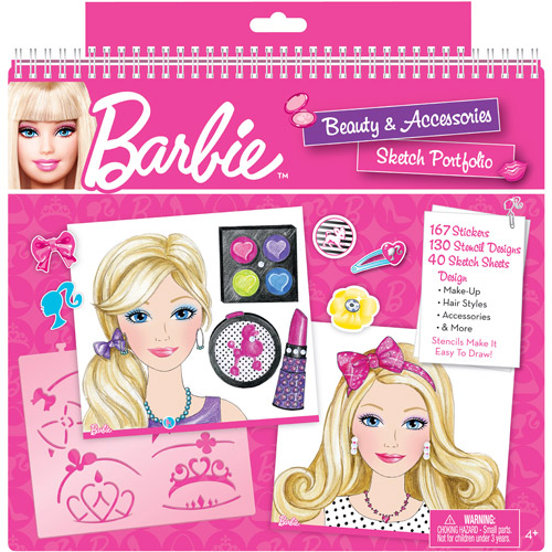 Barbie Beauty and Accessories Sketch Portfolio PPP