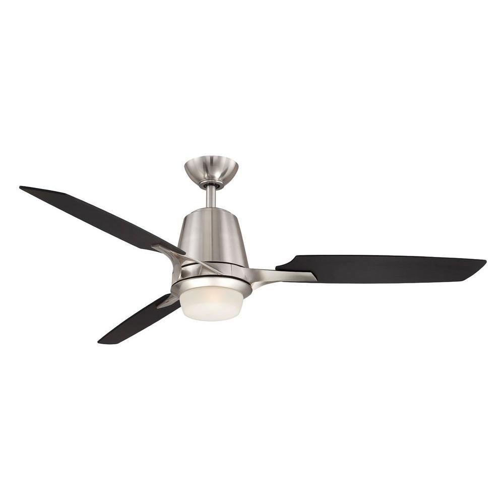 Hampton bay al979 bn stylique ii 52 in brushed nickel for Ceiling fan motor screws