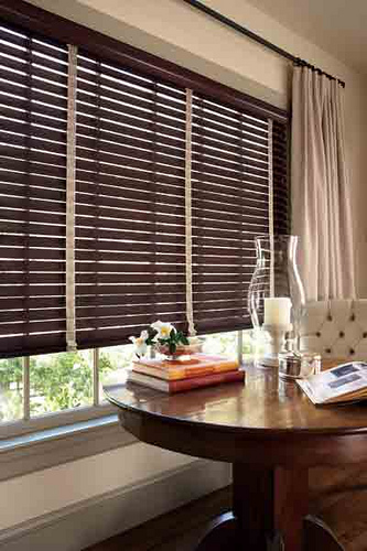 Home Decorators Collection Espresso Premium Faux Wood Blind 2 1 2 In Slats Pppa Avi Depot Much