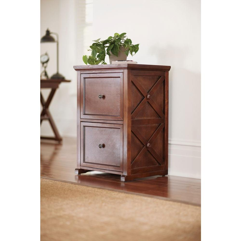 Home Decorators Collection An Xft Brexley Chestnut 2 Drawer File Cabinet Pppela Avi Depot Much