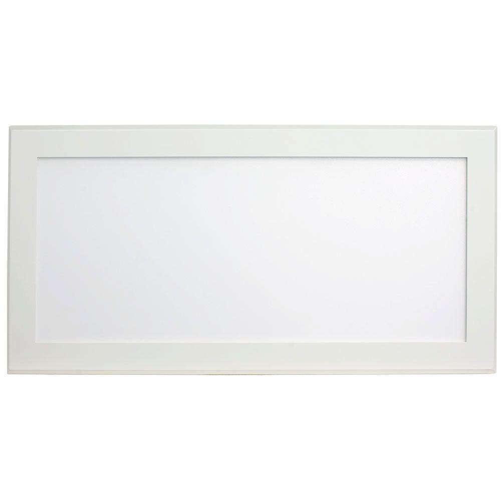 pixi beveled 1 ft x 2 ft white edge lit led flat light. Black Bedroom Furniture Sets. Home Design Ideas