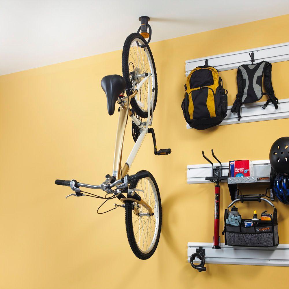 gladiator claw 1 bike ceiling mount bike hook ppp avi