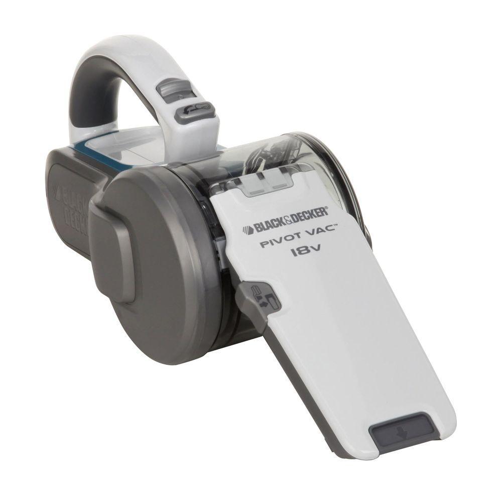 BLACK & DECKER PHV1810 18-Volt Pivoting Hand Vac