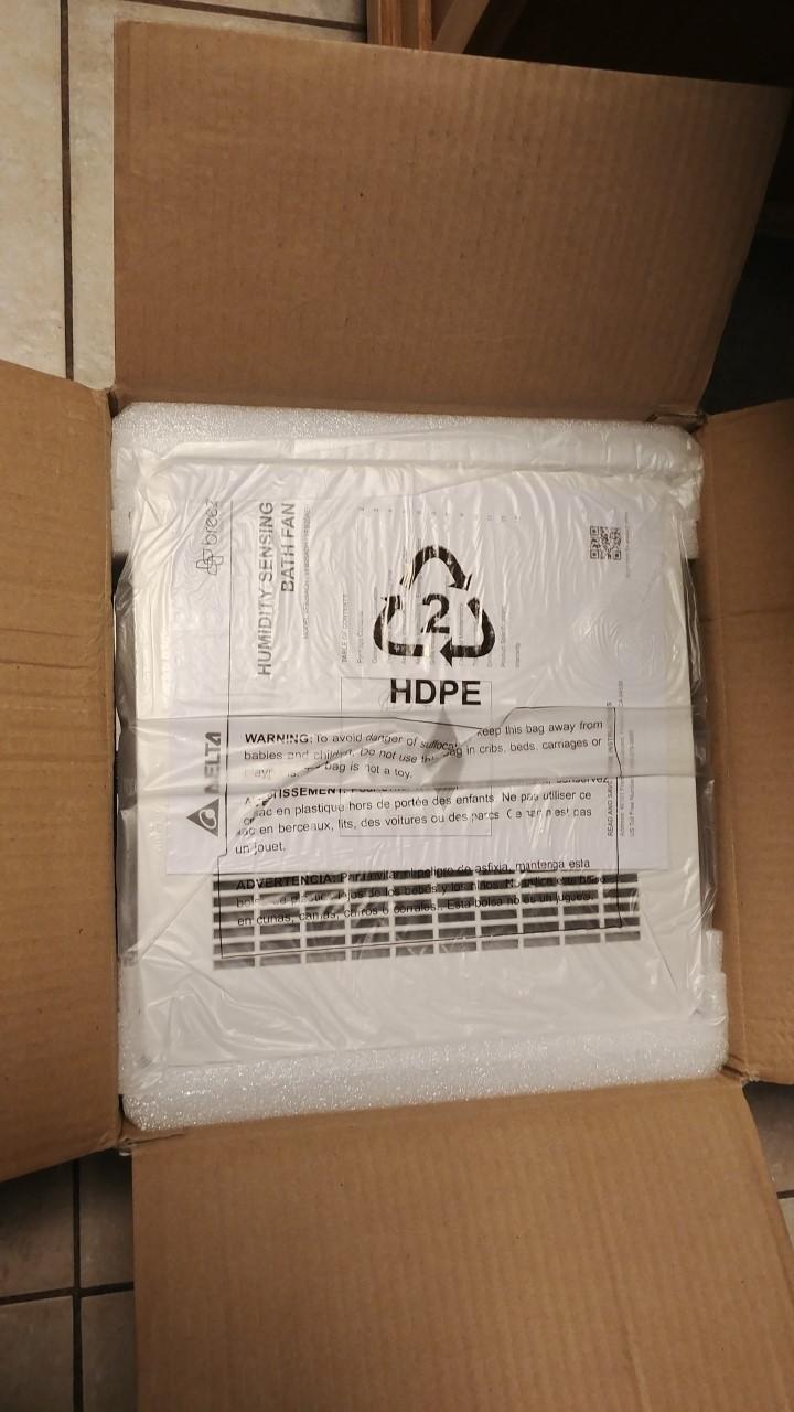Delta Vfb25aeh Signature 130 Cfm Ceiling Humidity Sensing