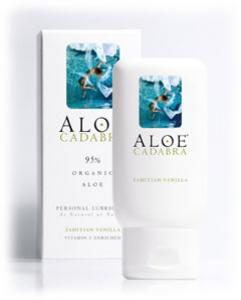 Aloe Cadabra Organic Lube Vanilla 2.5oz