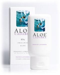 Aloe Cadabra Organic Lube Lavender 2.5 Oz