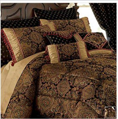 Chris Madden Bedding Set Sereda 7 Pc Comforter Queen New