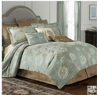 Chris Madden Magnolia Comforter 10 Pc King New