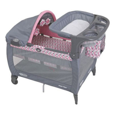 Graco Ally Pack N Play Pink Gray New Dealsplusdiscounts