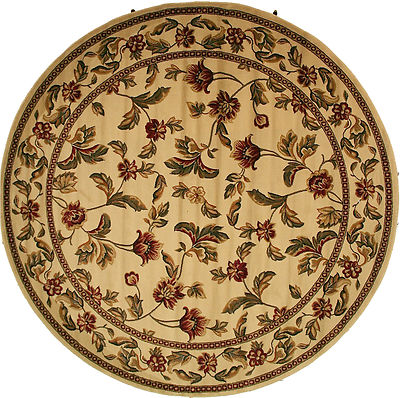 8 Foot Round Area Rug Rugs New Large Huge Border Antique
