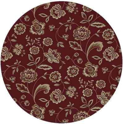 8 Foot Round Area Rug Rugs New Large Huge Red Beige