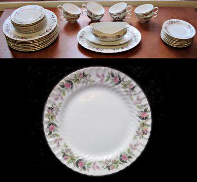 Vintage Dinnerware Set Regency Rose #2345 Creati & Vintage Dinnerware Set Regency Rose #2345 Creative China of Japan ...