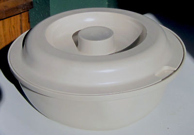 Vintage Tupperware Ultra 21 Microwave Oven 2 Qt Casserole