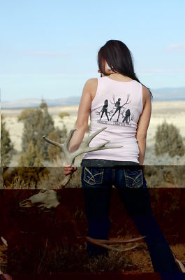 Hunting shirts sexy deer Womens
