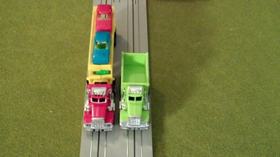 US 1 Electric Trucking Curve Track 6 Pack