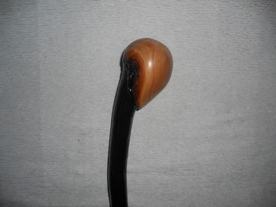 Knob Style Irish Blackthorn Shillelagh Handmade Walking