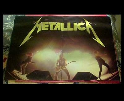 Metallica Damage Inc Tour 1986 Book Program Master Of