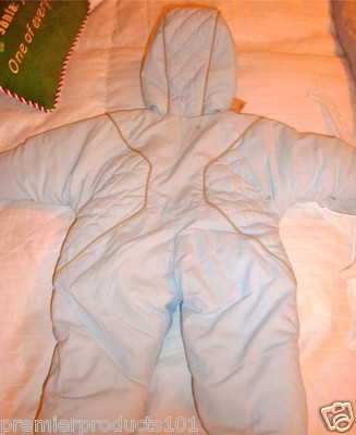 565f24301 Beatrix Potter Boys Quilted Winter Snowsuit w/Peter Rabbit Light ...