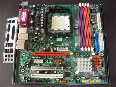 ECS MCP61PM-AM GeForce 6150 AM2 DDR2 Gateway MicroATX Motherboard ...
