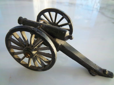 PENNCRAFT TOY CANNON CIVIL WAR ARTILLERY 1960's Re