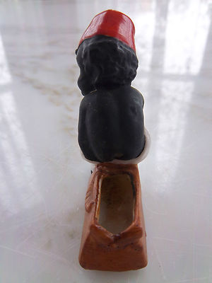 Rare Antique Black Boy Figurine Little Black Sambo Like