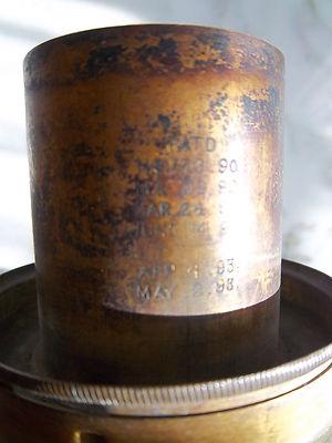 The Rochester Kerosene Oil Lamp Burner Part Pat 1886 Made