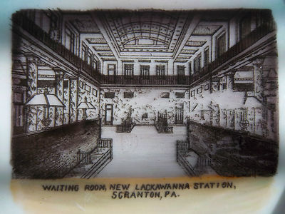 Quot New Lackawanna Quot Train Station Souvenir Plate Scranton Pa