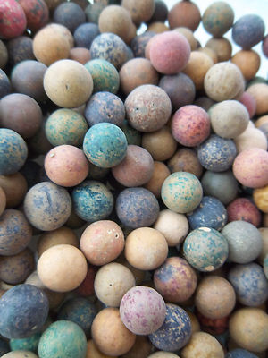Civil War Period 680 Clay Marbles From Farmer S Field In Upstate New York Wow