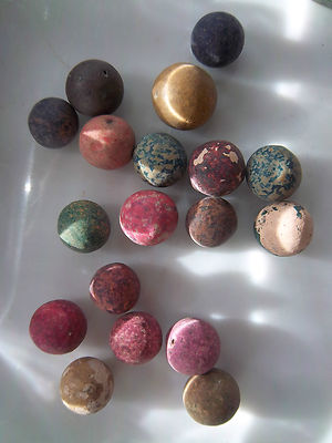 Civil War Period 680 Clay Marbles From Farmer S Field In